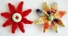 Flower Looms: Woven Daisies ♥LLK♥ with picture and written instructions.