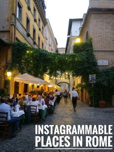Best Instagram spots in Rome.