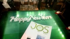 #happynewyear 3D printed JOS Technology