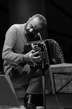 Astor Piazzolla - actually that's a bandoneon, not an accordion