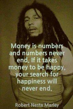 Money isn't the ultimate goal