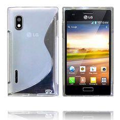 Transparent S-Line (Gennemsigtig) LG Optimus L5 Cover