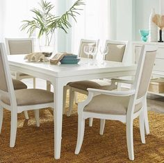 Doesnu0027t This Beautiful Dining Room Set By Thomasville Furniture Make You  Think Of Summer? Only 118 Days To Go... Visit One Of Our 5 Showrooms Today  For ...