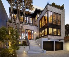 Russian Hill residence, San Francisco. Charlie Barnett Associates. Hello Anon. The architect for this project is Charlie Barnett Associates. You can see more photos and contact the firm HERE. I hope that helps, G