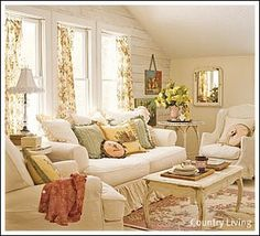 cottage style ~ relaxed