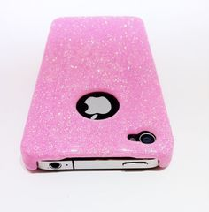 Pink Glitter Sparkle iPhone 4 / 4S Case by ComfortZoneCentral, $24.95 it's perfect for my iPhone