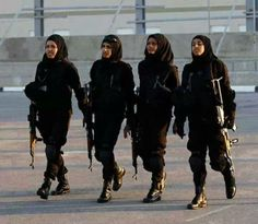 Somali Sniper Women