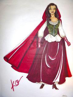 Once Upon a Time: Red Riding Hood by Viscountess-Vesper.deviantart.com on @deviantART