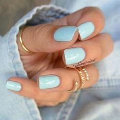 50 Stunning Manicure Ideas For Short Nails With Gel Polish That Are More Exciting - Nail Art - Hair And Nails, My Nails, Nails 2017, Sns Nails Colors, Gel Polish Colors, Manicure And Pedicure, Manicure Ideas, Nail Ideas, Gel Polish Manicure
