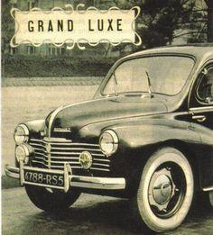 Elle fut pourtant, après le conflit, la voiture qui symbolisa le retour à la paix et de la prospérité, car elle fut la première voiture française accessible au grand public.