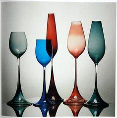 Color stemware