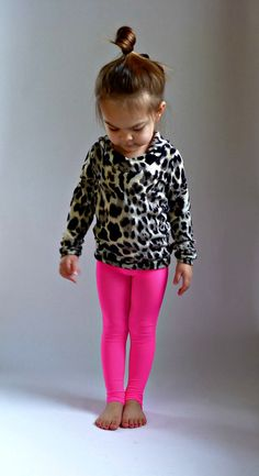 neon and leopard
