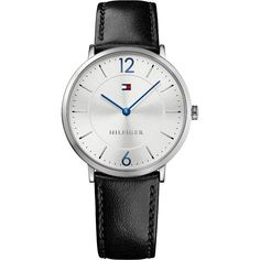 Gave Tommy Hilfiger - Horloge - Leer - Zwart - 40 mm Casual Watches, Watches For Men, Watch Gift Box, Tommy Hilfiger Shoes, Black Leather, Ebay, Mens Fashion, Silver, Accessories