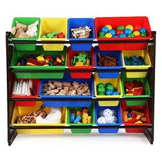 [Toy Storage Ideas] Discover Super-Sized Toy Storage Organizer >>> More info could be found at the image url. (This is an affiliate link) #ToyStorageIdeas