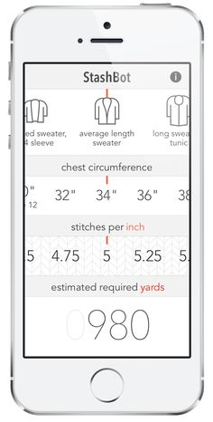 From keeping track of your stash to counting rows on the go, here's a list of the knitting apps we're digging lately!