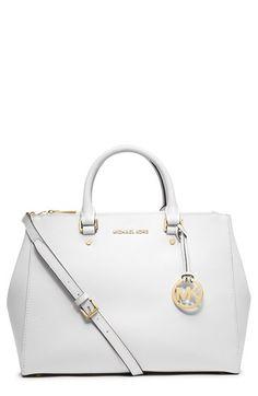 Michael Kors Cecelia Pebble Saddle Black Leather Cross Body Bag 34% off retail