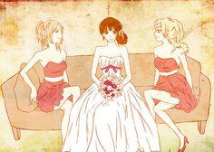 Chizuru, Sawako, Ayane :O   We Heart It   kimi ni todoke, sawako, and anime