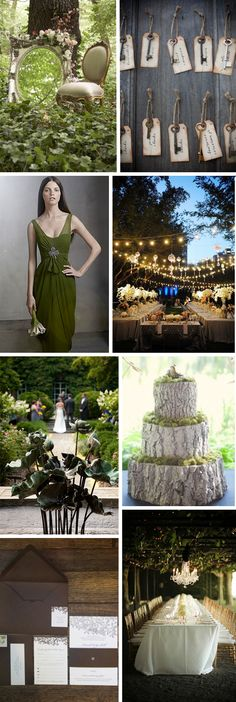 secret garden weddings- i could totally make some of this for her!!!!!