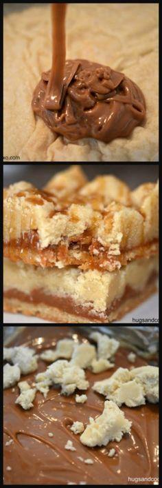 Caramel Butter Shortbread Bars