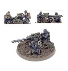 Death Korps of Krieg Lascannon Team 3