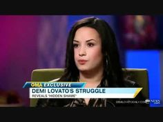 Demi Lovato talks about self injury, disordered eating and the daily choice of recovery.