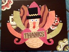 Thanksgiving craft from a successful GNO!