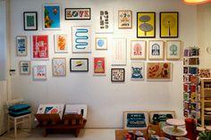 Howkapow Shop - Print Wall