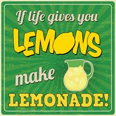 """If life gives you lemons, make lemonade. Square of motivational quotes printed on canvas and stretched on 1/5"""" stretch bars. Museum Quality, Free Shipping & Free Return Policy and 100% Satisfaction Guaranteed."""