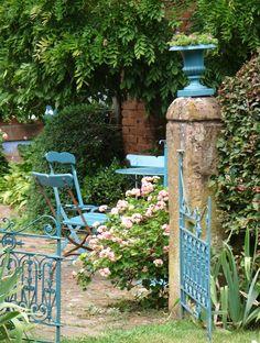 Les Jardins de la Ferme Bleue.♔..