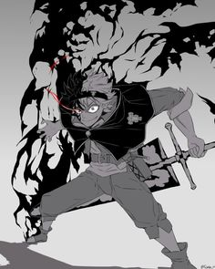 17 Super Ideas for wall paper anime black clover Demon Manga, Fanart Manga, Fanarts Anime, Anime Characters, Neue Animes, Black Clover Manga, Anime Tattoos, Art Reference, Character Art
