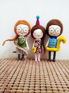 Dolls by EEchingHandmade