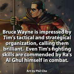 You go Tim! | | #robin #batman #joker #batfamily #dccomics #hero #villain #comics #justiceleague | Source by superherobook #superheroencyclopedia by superheroencyclopedia.com