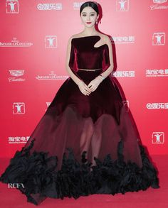Fan Bingbing In Stéphane Rolland Couture – 18th Shanghai International Film Festival Opening Ceremony