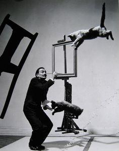 Dali 1948 by Philippe Halsman