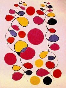 Alexander Calder, Tapestry, lithograph proposed by David Lawrence Gallery for sale on the art portal Amorosart