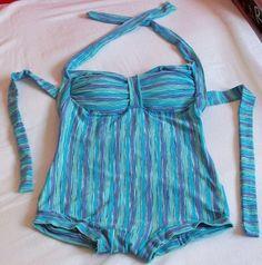 DIY Vintage Swimsuit Romper