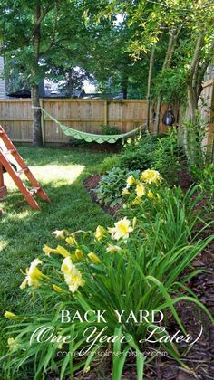 Best DIY Projects: Back Yard Makeover, One Year Later