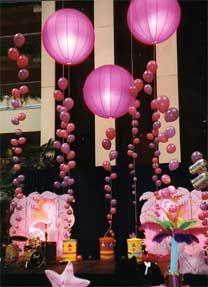Balloon lights, floating latern decor
