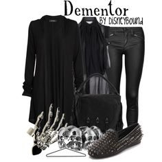 """Dementor"" by lalakay on Polyvore #harrypotter"