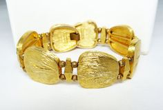 New Listings Daily - Follow Us for UpDates -  Merry Christmas Sale - 20% off Classic Gold Tone Bracelet - Signed Kramer Brushed Goldtone - Asian Flair - Designer Signed - 1950's 1960's #Vintage Link Mid Century Design o... #vintage #jewelry #teamlove #etsyretwt #ecochic #thejewelseeker ➡️ http://etsy.me/2gUvDZN