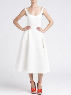 Shop White Angel Midi Dress from choies.com .Free shipping Worldwide.