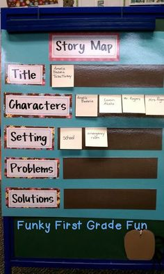 Funky First Grade Fun: Make Your Anchor Charts Awesome! (freebie)
