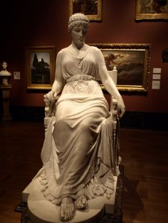 Penelope  by Franklin Simmons, 1896,  Detroit Institute of Arts Museum, Detroit, USA.