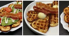 Klidmoster.dk: 3 x bacon-vafler - sødt, salt og syndigt...