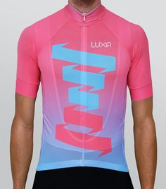 Ride for Pink cycling jersey. Inspiration to create this design is one of the greatest races in the world - Giro d 'Italia. It is also a celebration of the 100th edition this race in 2017.