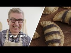 Ploughman's pasties British Baking Show Recipes, Baking Videos, Gbbo, Great British Bake Off, Pickled Onions, Chutney, Lunch Recipes, Tent, How To Make