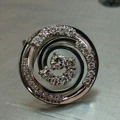 Diamonds, Whitegold ring