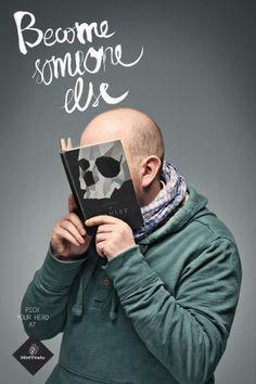 Anzeigen der litauischen Buchhandlung Mint Vinetu wirken international