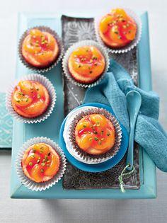Cupcakes mit Quark, Frischkäse und Mandarinen