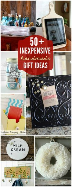 50+ Very Cheap DIY Gift Ideas - DIY Ideas 4 Home frugality, frugal ideas #frugal frugal